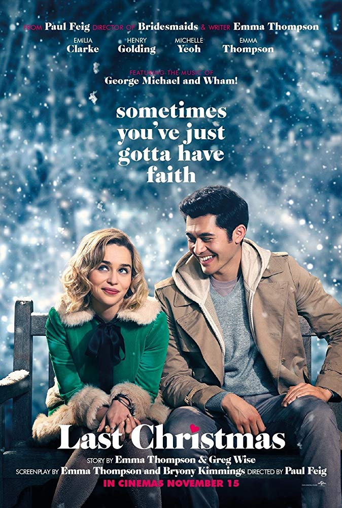 Last Christmas movie poster