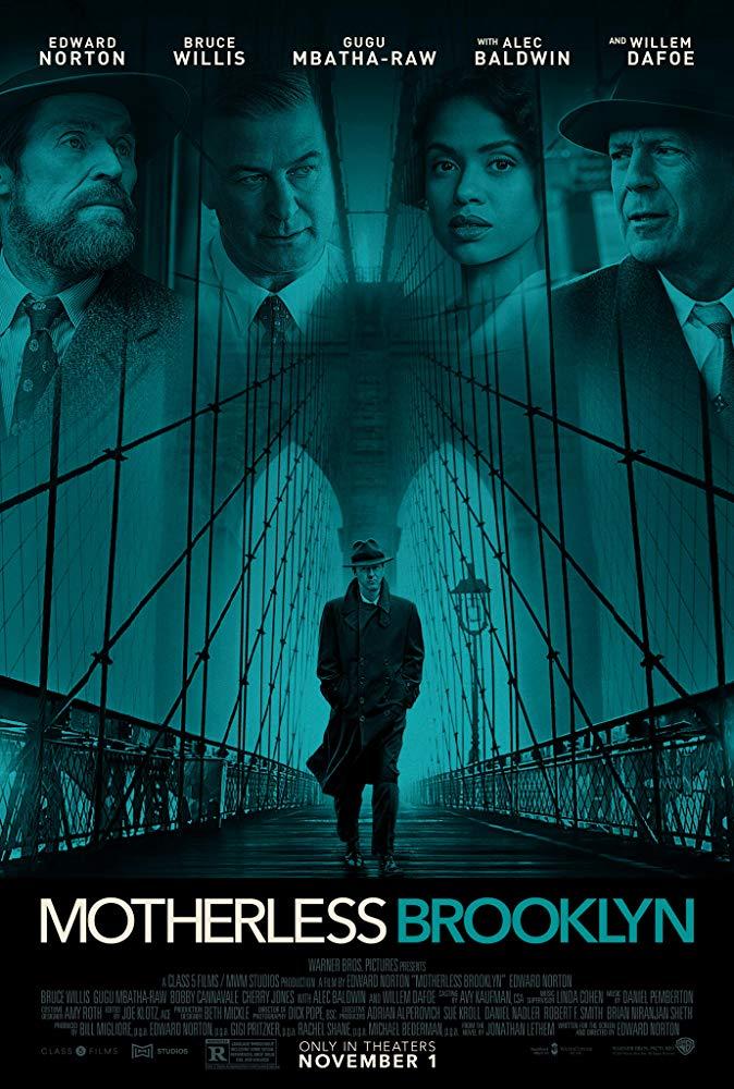 Motherless Brooklyn movie poster