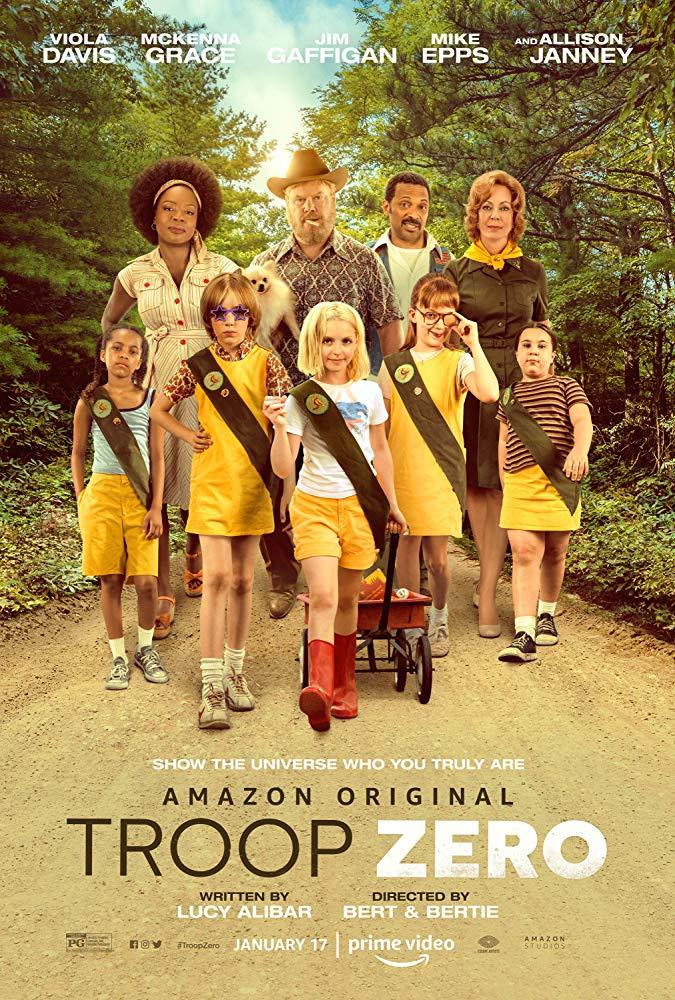 Troop Zero movie poster