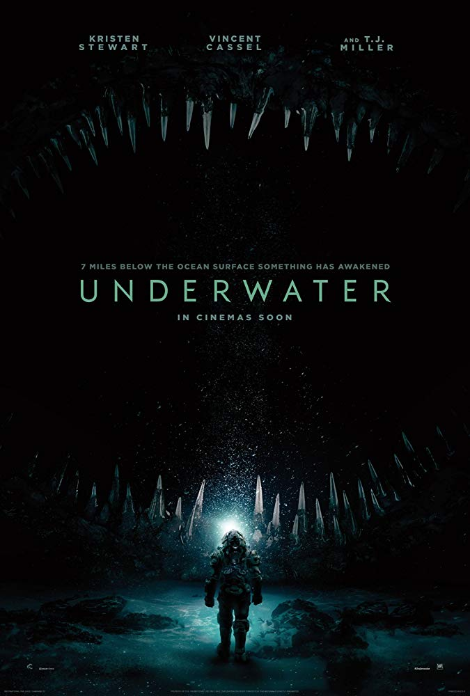 Underwater movie poster