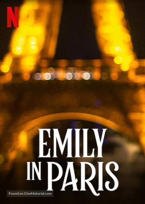 Emily in Paris tv poster