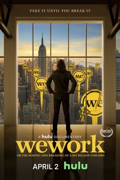WeWork: or the Making and Breaking of a $47 Billion Unicorn movie poster