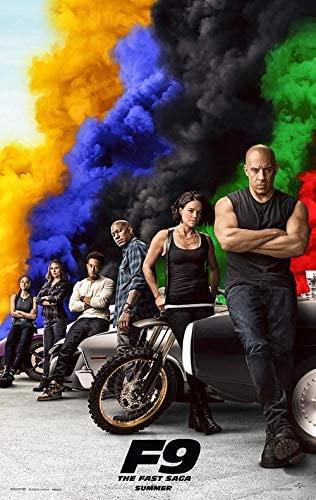 F9: The Fast Saga movie poster