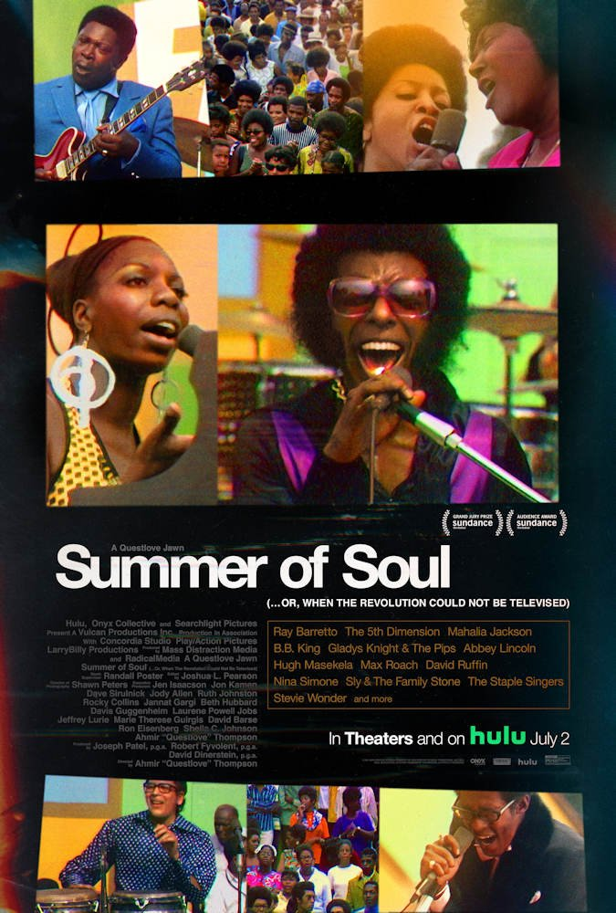 Summer of Soul (...or, when the revolution sould not be televised) movie poster