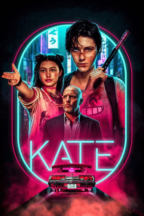 Kate movie poster