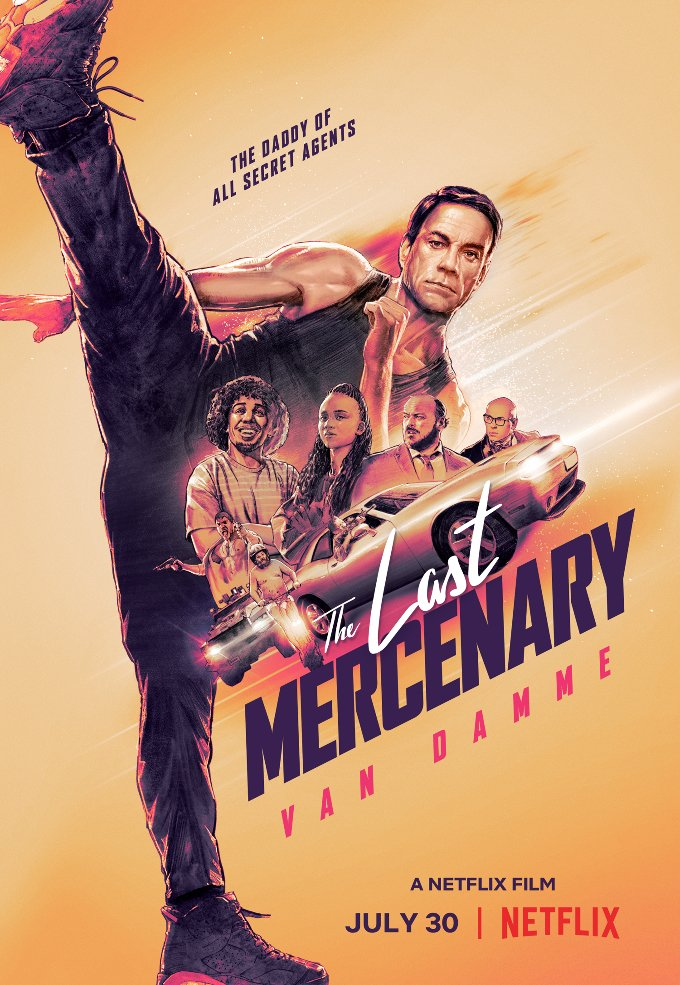 The Last Mercenary  tv poster
