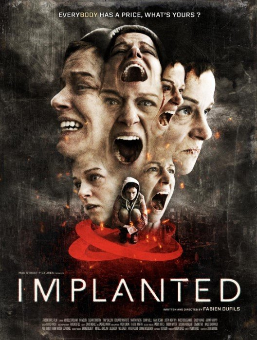 Implanted movie poster